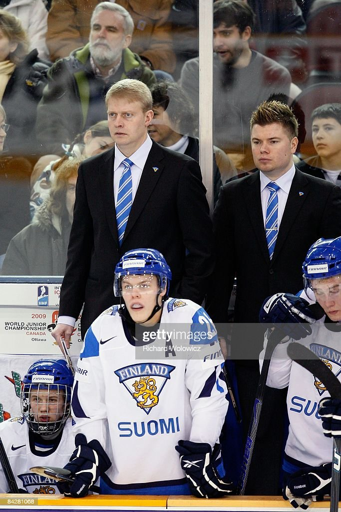 IIHF World Juniors Relegation - Finland v Germany : News Photo