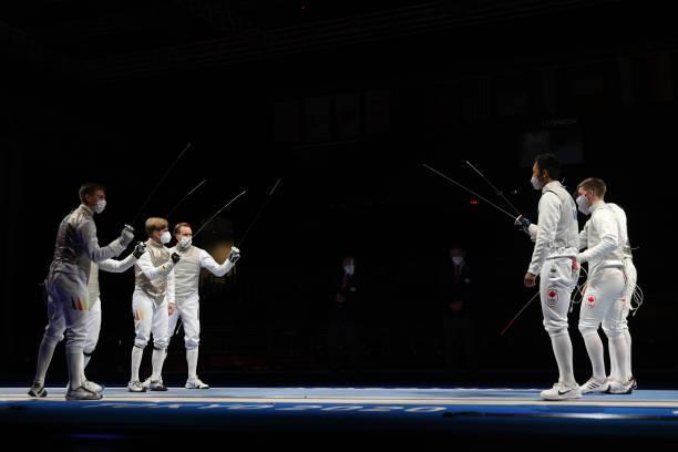 JPN: Fencing - Olympics: Day 9