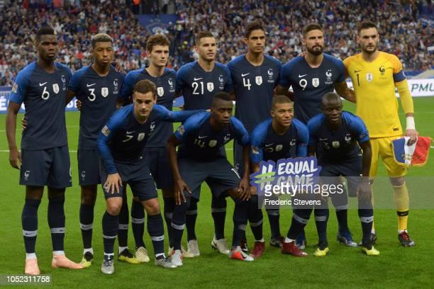 Team France Paul Pogba Presnel Kimpembe Benjamin Pavard Lucas Hernandez Raphael Varane Olivier Giroud Hugo Lloris Antoine Griezmann Blaise Matuidi...