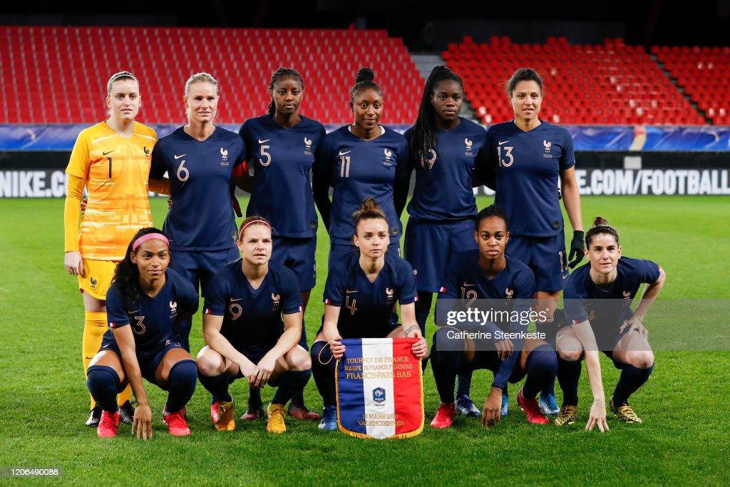 France v Netherlands - Women Tournoi de France : ニュース写真