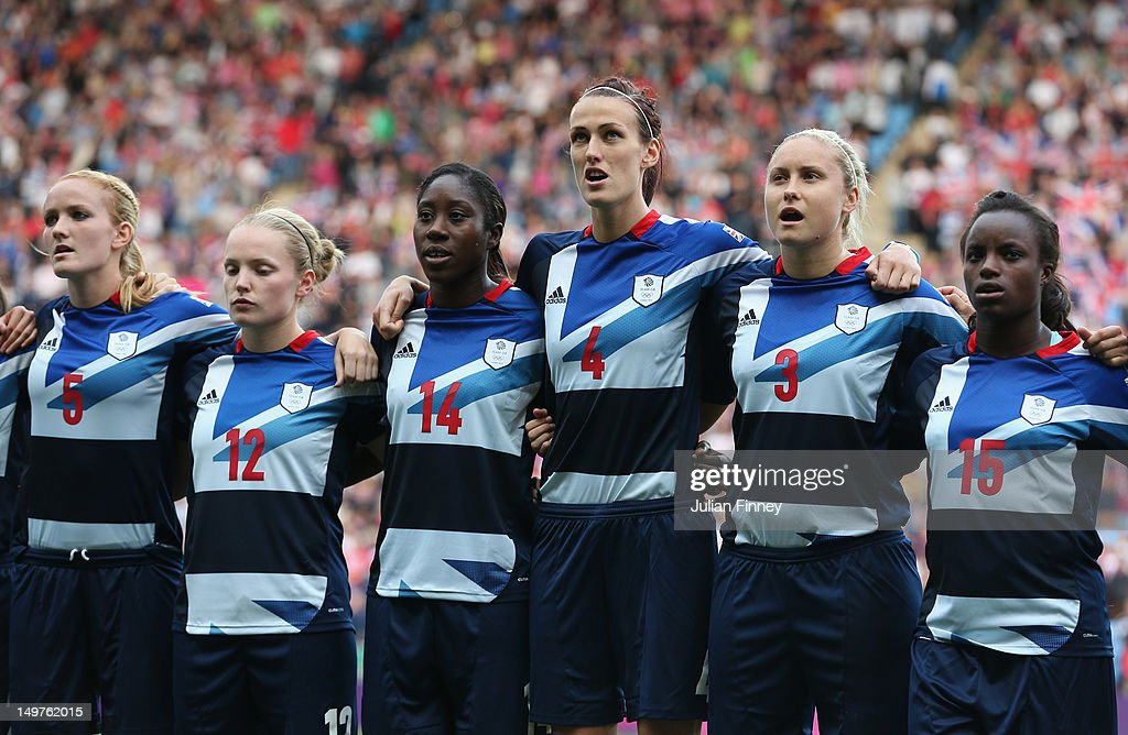Olympics Day 7 - Women's Football Q/F - Match 22 - Great Britain v Canada : News Photo