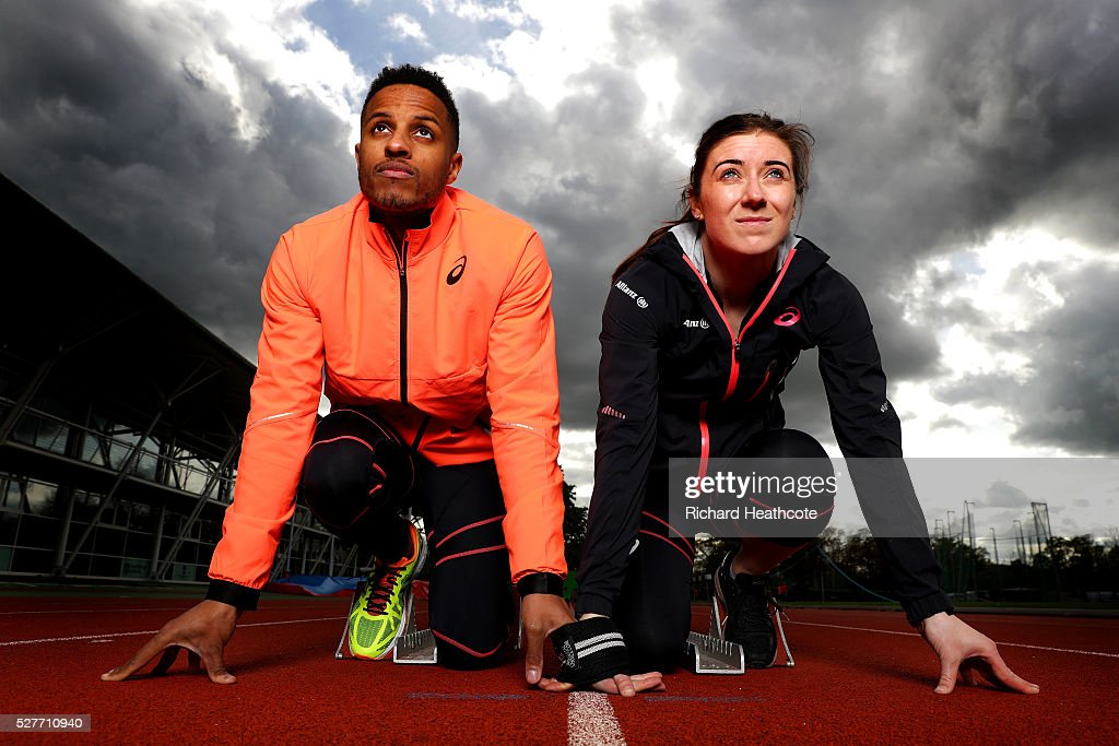 Libby Clegg & Chris Clarke Team GB Athletes Feature : News Photo