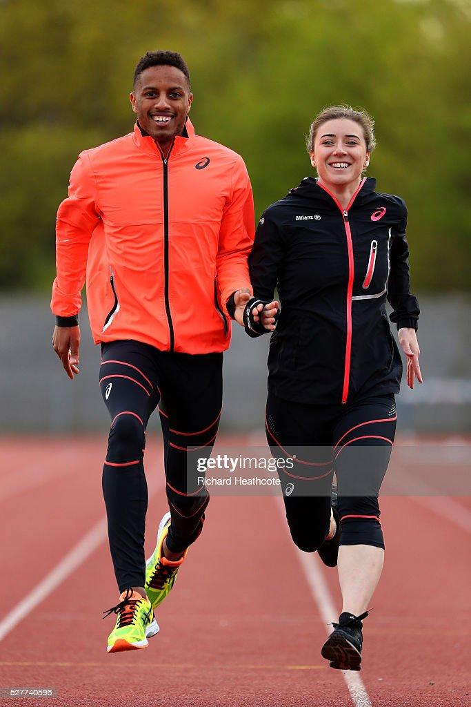 Libby Clegg & Chris Clarke Team GB Athletes Feature : News Photo