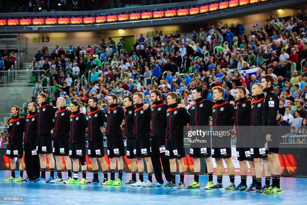 Slovenia v Germany - EHF Men's European Handball Championship : ニュース写真