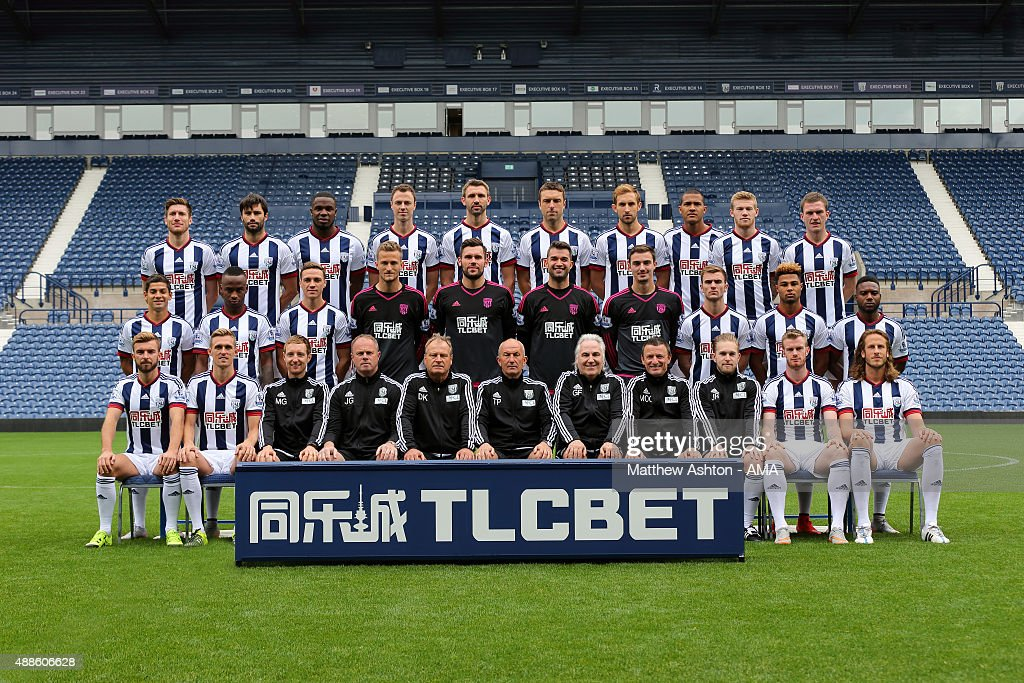 West Bromwich Albion Photocall