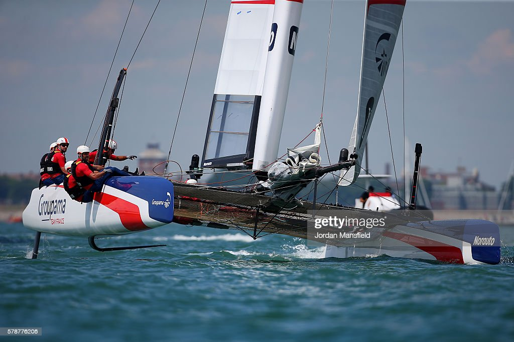Louis Vuitton America's Cup World Series - Portsmouth: Day One