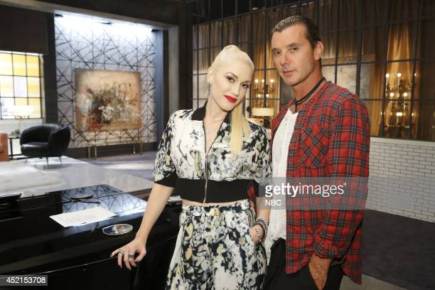 THE VOICE Team Gwen Battle Reality Pictured Gwen Stefani Gavin Rossdale