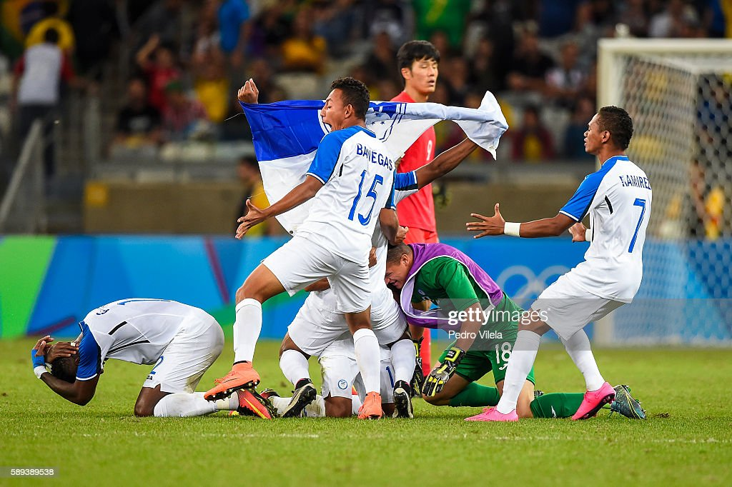 2418a8ddffd8b Republic of Korea v Honduras - Quarter Final  Men s Football - Olympics   Day 8