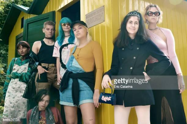 Team Hurricane actors, Sara Morling, Mia My Elise Pedersen, Eja Penelope Roepstorff, Mathilde Linnea Daugaard Jensen, Zara Munch Bjarnum, Ira...