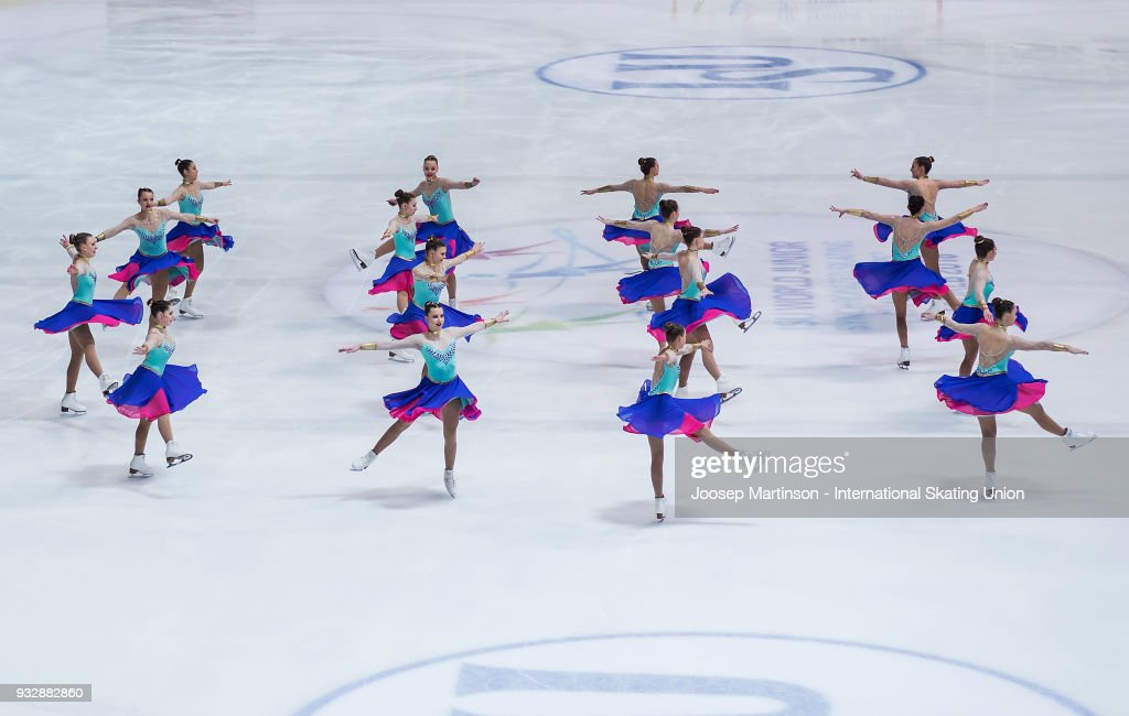 HRV: World Junior Synchronized Skating Championships - Zagreb