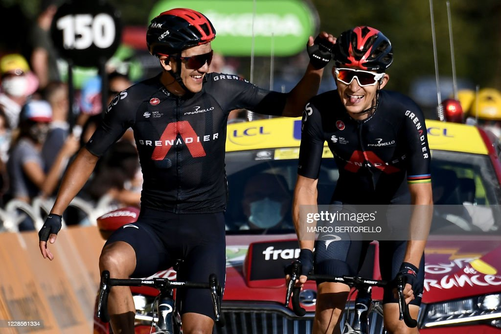 CYCLING-FRA-TDF2020-STAGE18 : News Photo