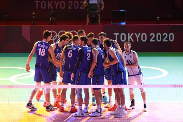 JPN: Volleyball - Olympics: Day 1