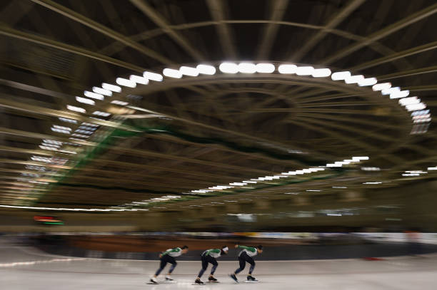 JPN: ISU World Cup Speed Skating Obihiro
