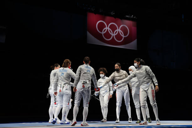 JPN: Fencing - Olympics: Day 8