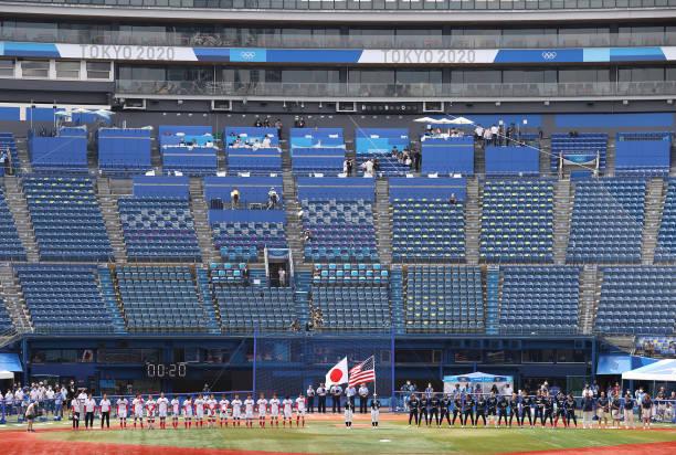 JPN: Softball - Olympics: Day 3