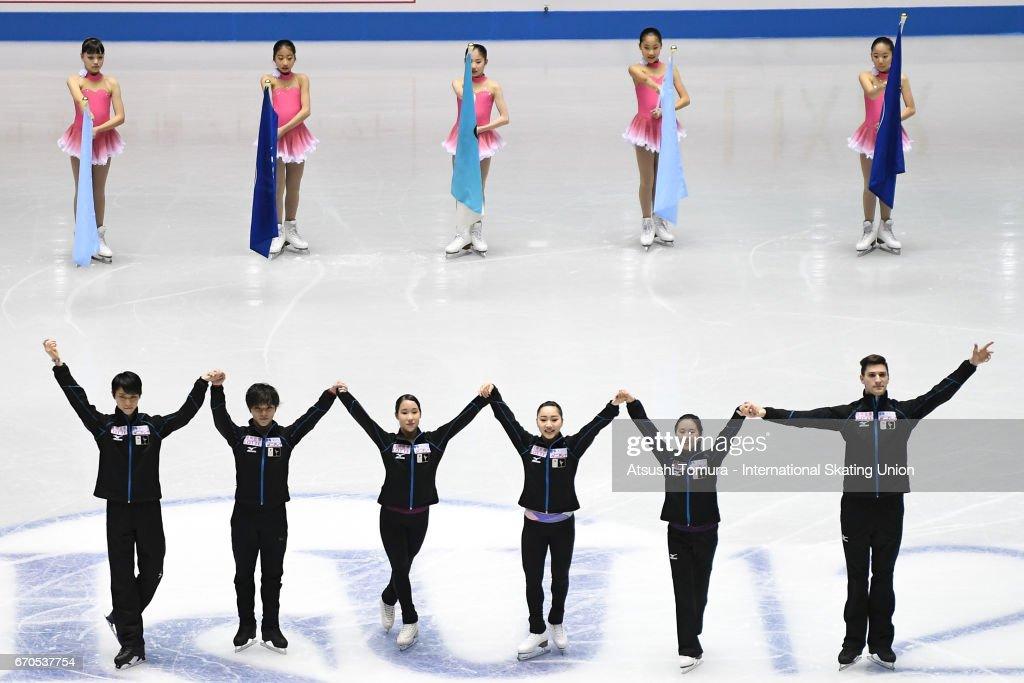 ISU World Team Trophy - Japan Day 1 : ニュース写真