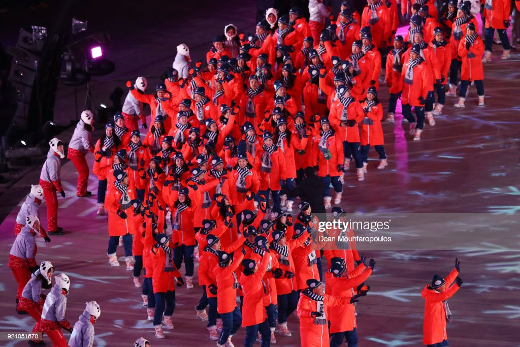 2018 Winter Olympic Games - Closing Ceremony : ニュース写真