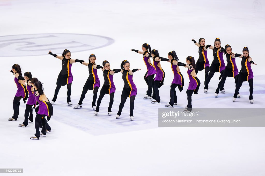FIN: ISU World Synchronized Skating Championships