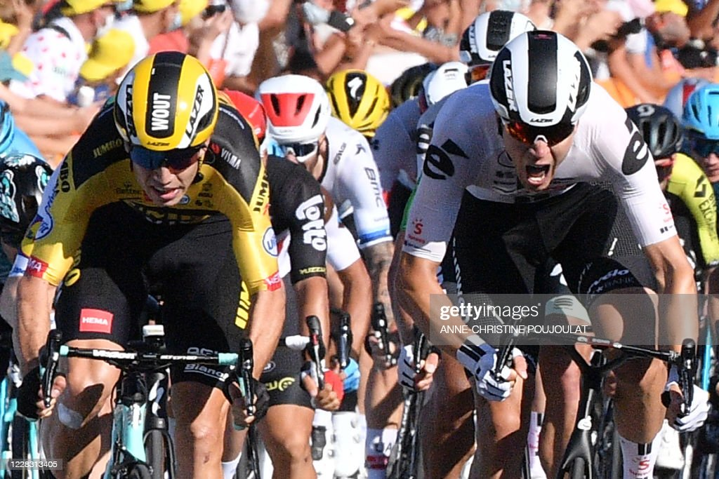 TOPSHOT-CYCLING-FRA-TDF2020-STAGE5 : News Photo