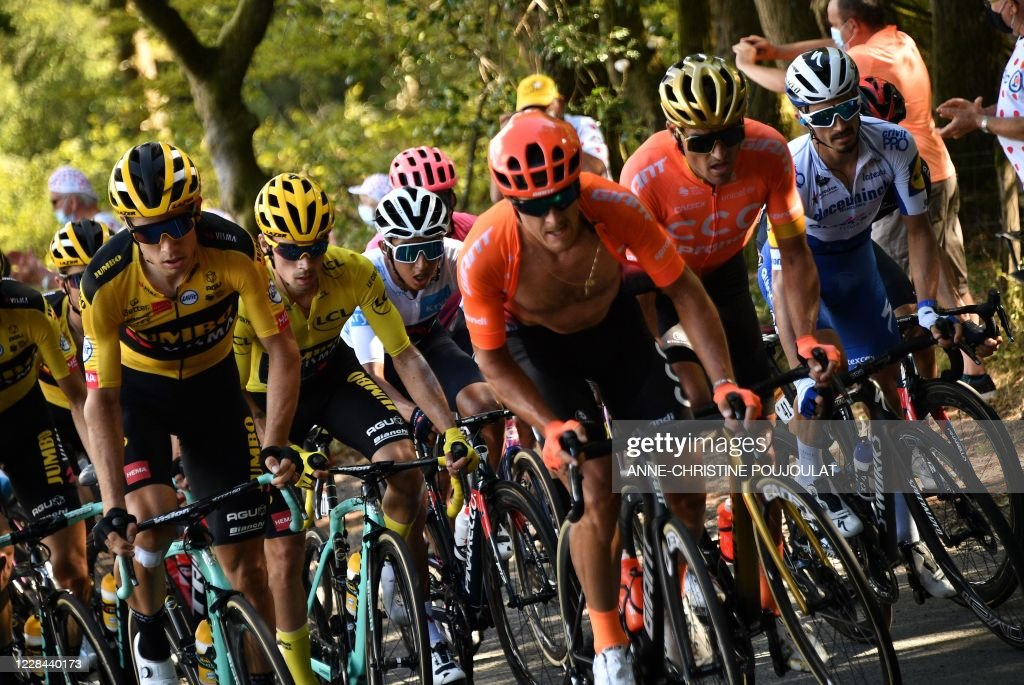 CYCLING-FRA-TDF2020-STAGE12 : News Photo