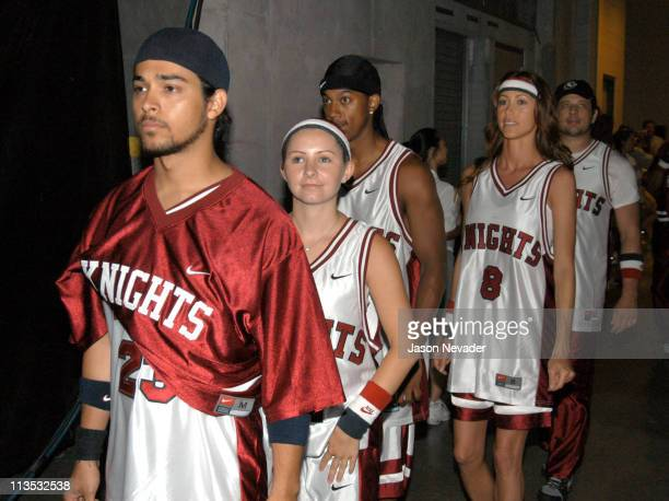 Team Knights during *NSYNC's Challenge for the Children VI - Day 3 - Basketball Game - Backstage at Office Depot Center in Sunrise, Florida, United...