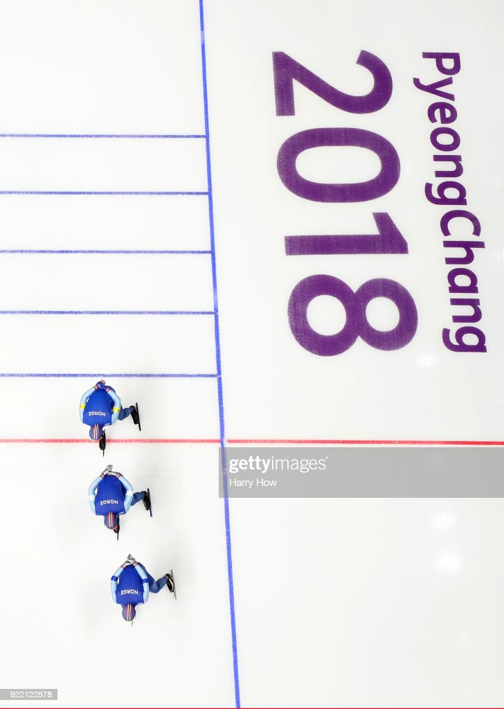 Speed Skating - Winter Olympics Day 12 : News Photo