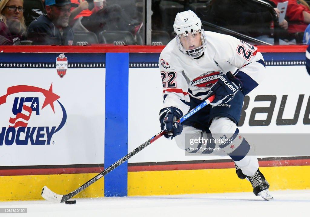 HOCKEY: SEP 19 USA Hockey All-American Prospects Game : News Photo