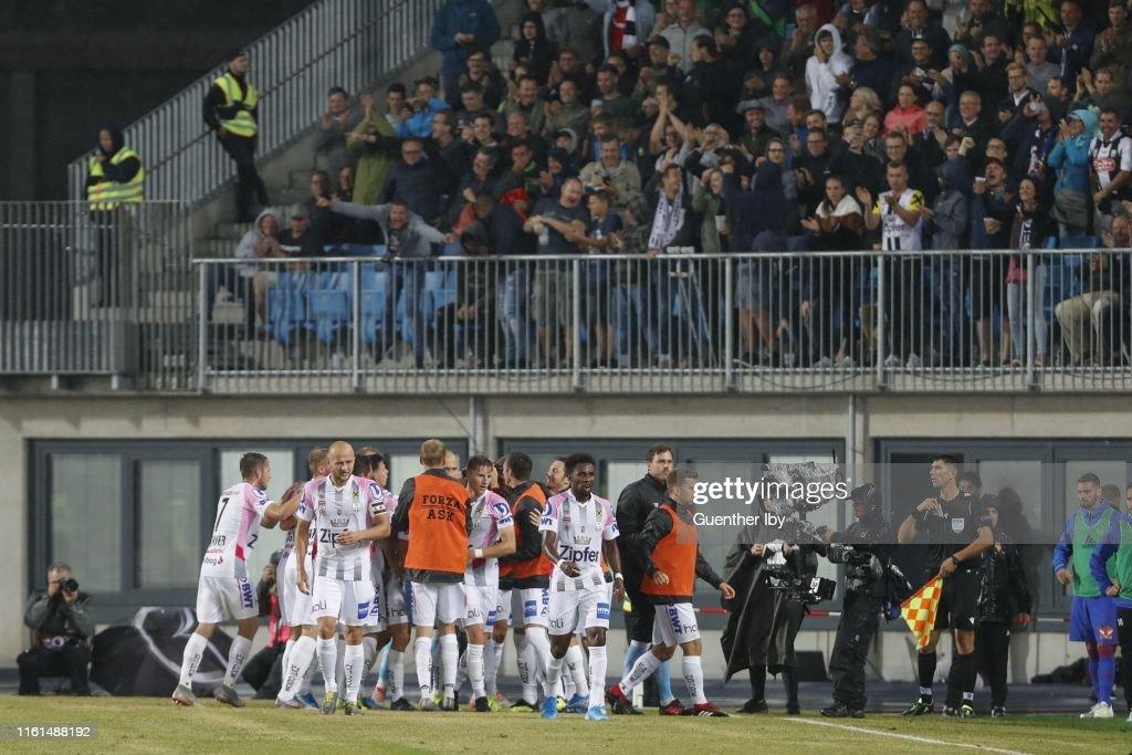 LASK v FC Basel - UEFA Champions League Qualifier : News Photo