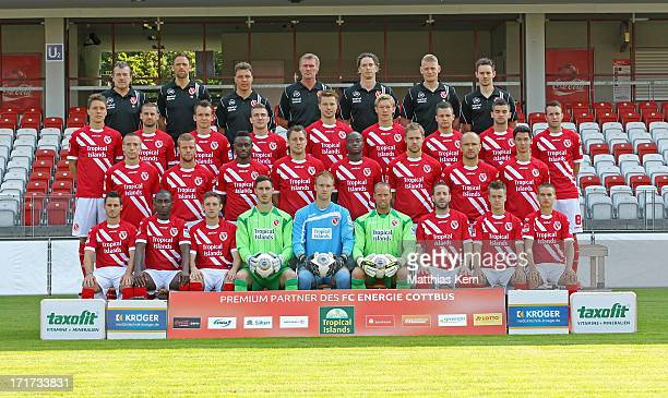 team leader Andre Rohbock goalkeeper coach Ronny Zeiss assistant coach Uwe Speidel head coach Rudi Bommer fitness coach Matthias Grahe...