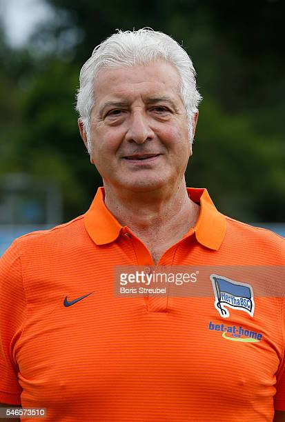 Team leader Nello di Martino of Hertha BSC poses during the Hertha BSC Team Presentation on July 12 2016 in Berlin Germany