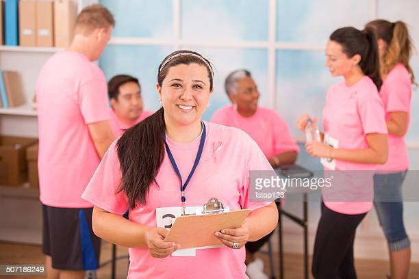Líder da Equipa organiza Evento de Beneficiência Consciencialização Contra o Cancro da mama.