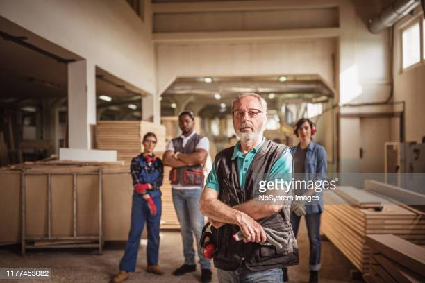 team leader - lumber industry stock pictures, royalty-free photos & images