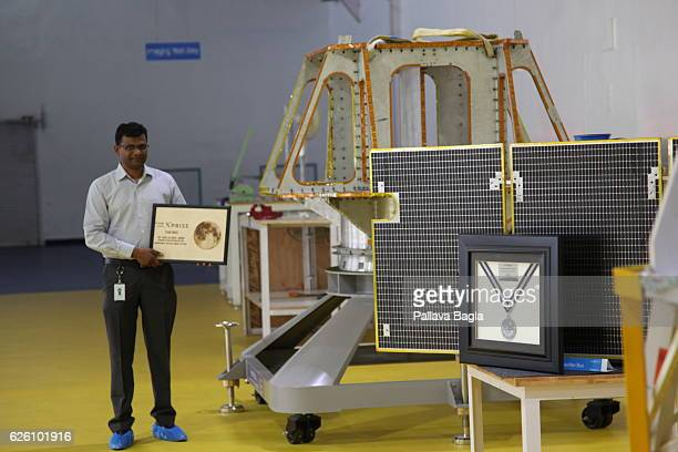 Team Leader Rahul Narayan a software engineer and entrepreneur poses on October 28 2016 in Bengaluru India Narayan is leading the Indian startup...
