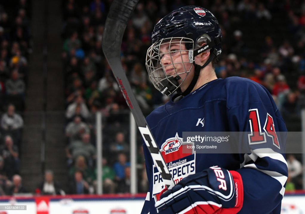 HOCKEY: SEP 19 USA Hockey All-American Prospects Game : News Photo