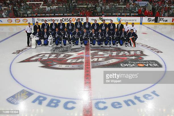 Team Lidstrom Nicklas Lidstrom of the Detroit Red Wings Henrik Sedin of the Vancouver Canucks Keith Yandle of the Phoenix Coyotes Duncan Keith of of...