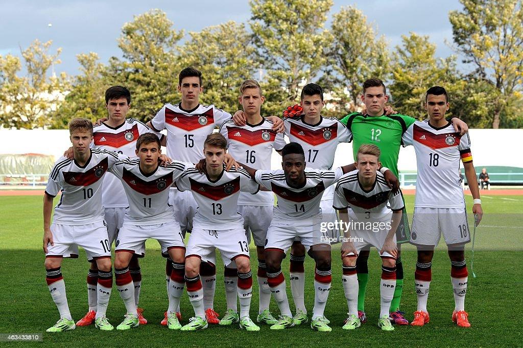 U16 Germany v U16 Spain - U16 UEFA Development Tournament : Nachrichtenfoto
