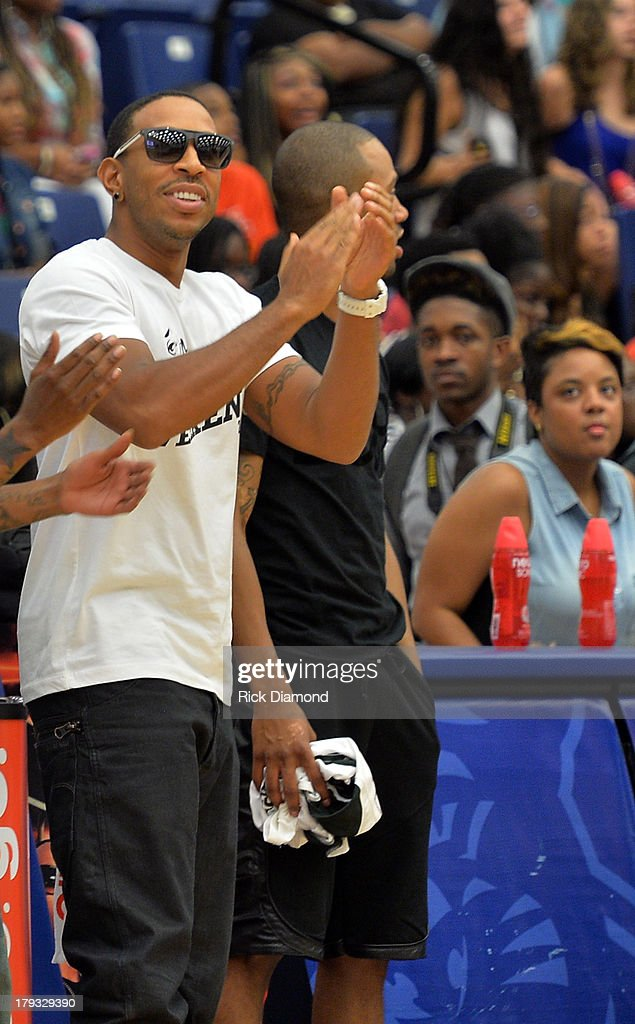 Team Ludacris Manager, Ludacris during Neuro Drinks At LudaDay Weekend Celebrity Basketball Game at GSU Sports Arena on September 1, 2013 in Atlanta, Georgia.
