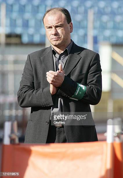Team Manager Jose Mota of Pacos Ferreira during Maritimo vs Pacos de Ferreira Funchal Portugal in Funchal Portugal
