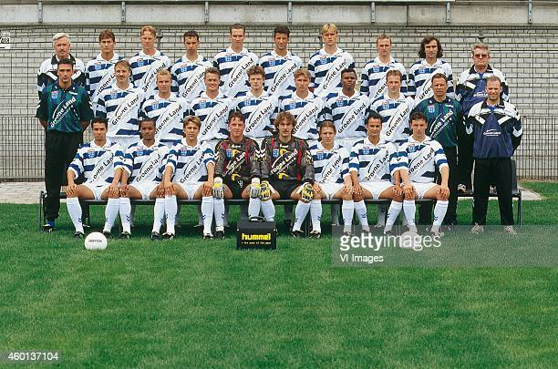 Team Manager Wim de Weerdt, Arjan Bosschaart, Marcel Boudesteyn, Andre van Tuinen, Josja Bolks, Arie Smit, Elroy Kromheer, Martin Reynders, Lucian...