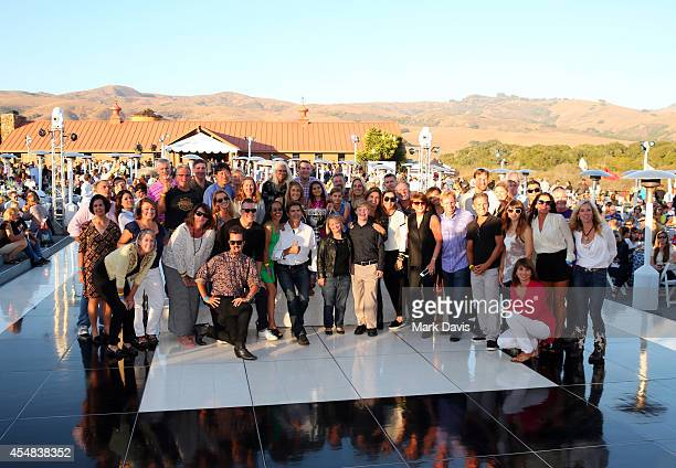 Team Maria attends the Hearst Ranch barbeque celebration and concert during Best Buddies Hearst Castle Challenge at Hearst Ranch on September 6 2014...