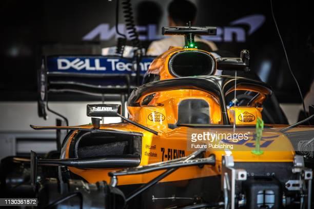 Team McLarenRenault car parts on day 1 of the 2019 Formula 1 Australian Grand Prix