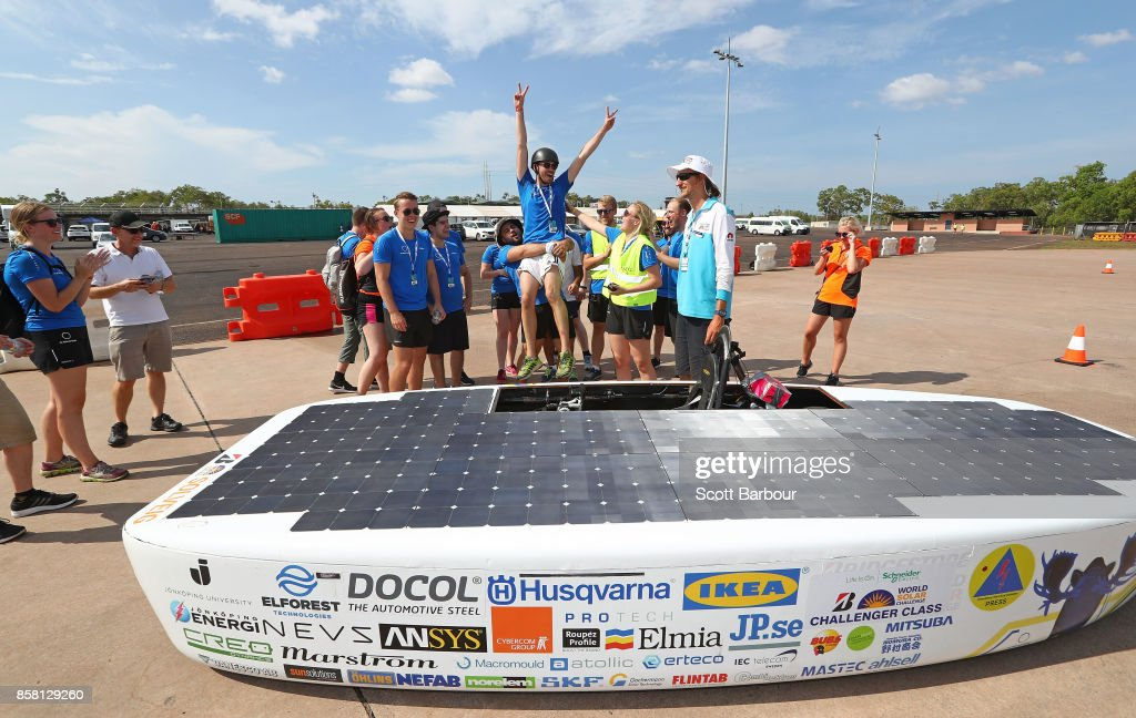2017 Bridgestone World Solar Challenge - Track Testing : News Photo