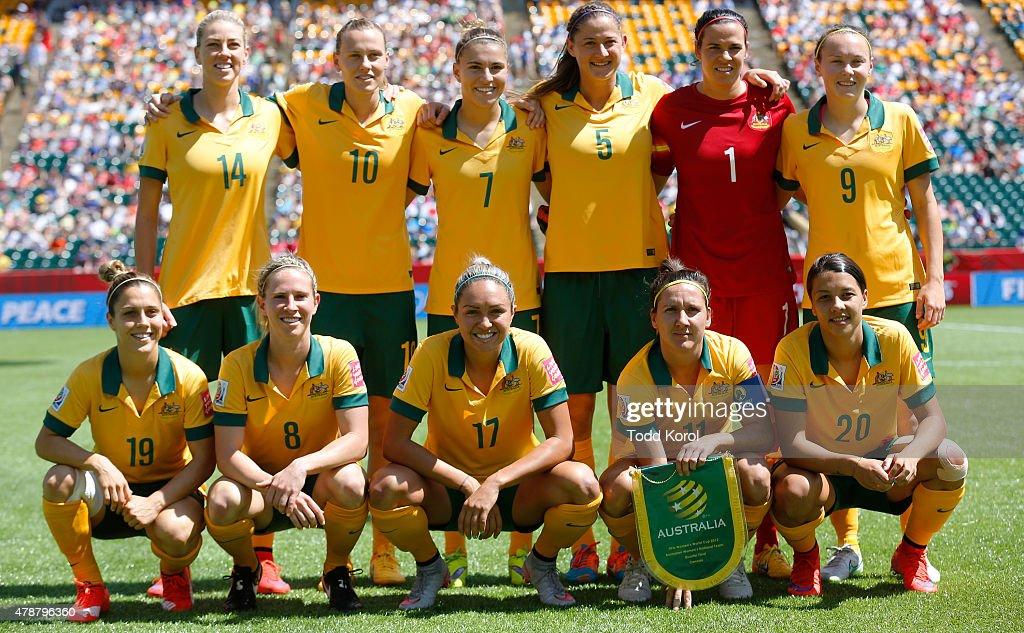 Australia v Japan: Quarter Final - FIFA Women's World Cup 2015 : News Photo