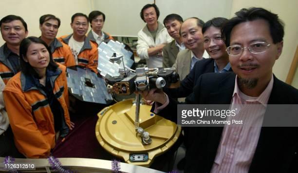 Team members from The Polytechnic Uinversity Chan Chikeung Tam Meiyuk So Kintak Wan Chaitong Kong Kamhoi Chris Wong Yu Chunho Professor Yung Kaileung...