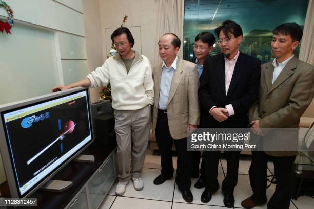 Team members from the Polytechnic Uinversity Chris Wong Professor Yung Kaileung Chan Chiucheung Dr Ng Tzechuen and Yu Chunho who have designed the...