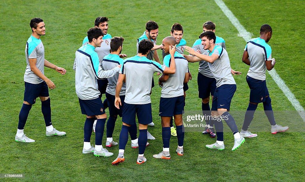 Portugal U21 - Training & Press Conference