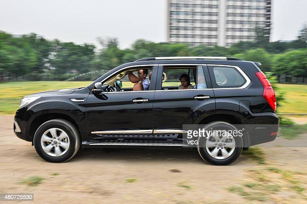 Team members test a mindcontrolled car at Nankai University on July 15 2015 in Tianjin China A Nankai University research team led by Duan Feng...