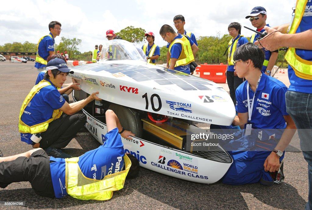 2017 Bridgestone World Solar Challenge - Track Testing : News Photo