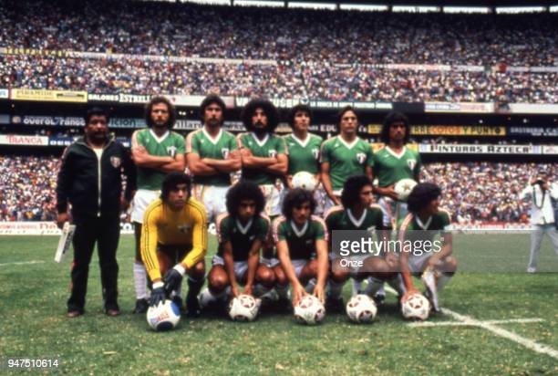 Team Mexico during a presentation of team qualifying for the World Cup 1978 in Argentina on 28th December 1977