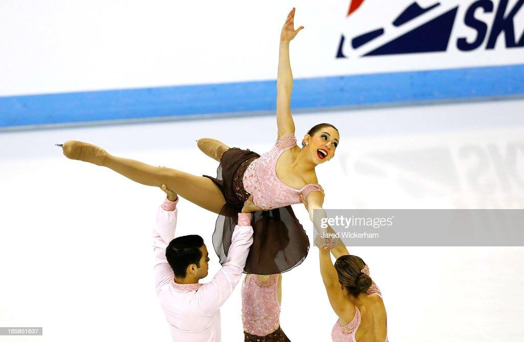 2013 ISU World Synchronized Skating Championships : News Photo